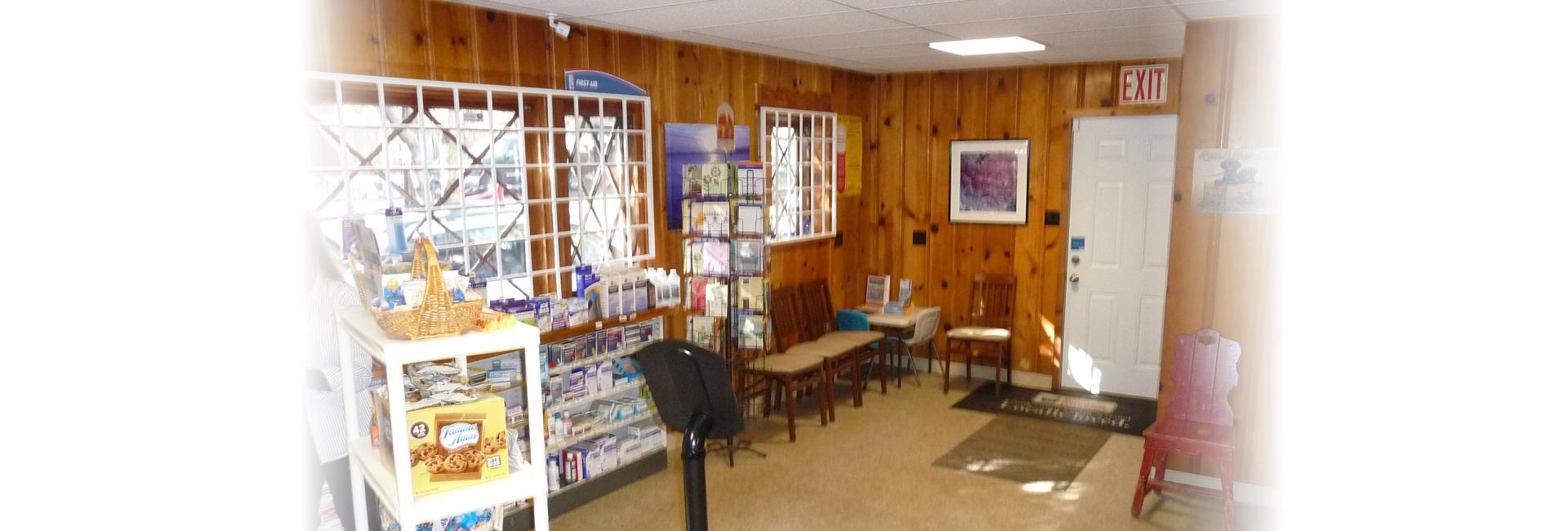 pharmacist inside the pharmacy