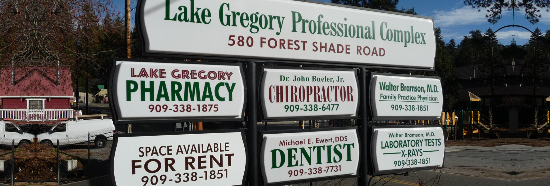 lake gregory professional complex